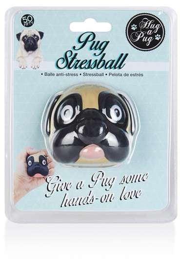 Pug Stress Ball ($12)