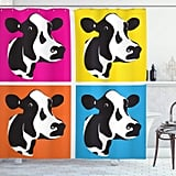 Ambesonne Cattle Shower Curtain
