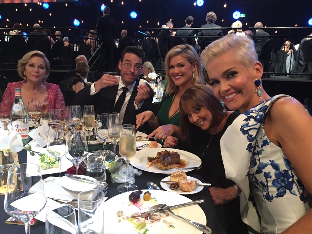 TV Week Logie Awards Ceremony Menu