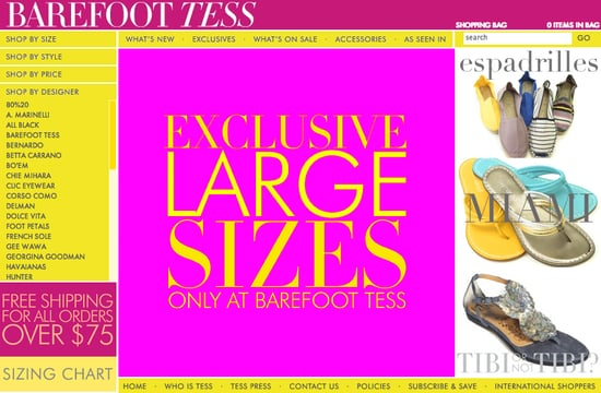 Fab Site: BarefootTess.com