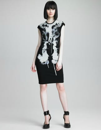 This McQ Alexander McQueen digital print dress is a luxe way to show off your UK spirit.  McQ Alexander McQueen Printed Cap Sleeve Dress ($355)