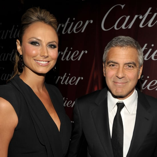 George Clooney and Stacy Keibler in Palm Springs Pictures