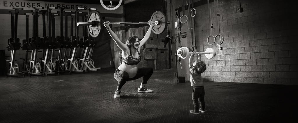 Fierce Mom's CrossFit Maternity Photos Aren't Just Stunning — They're Seriously Badass