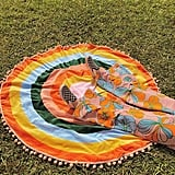 All Around Giant Circle Towel — Color Wheel