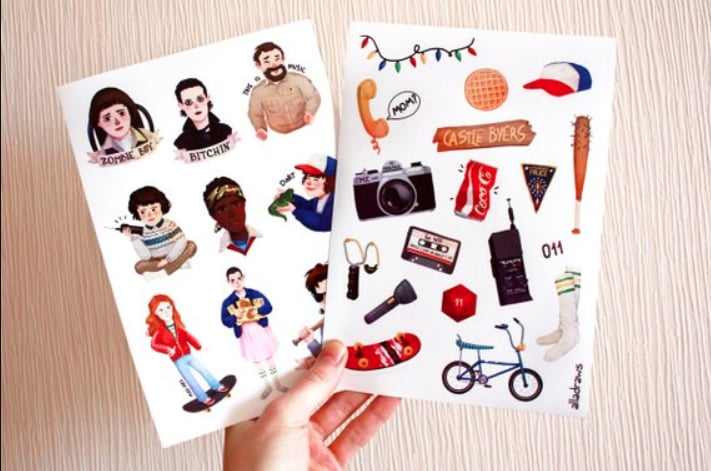 Stranger Things Stickers