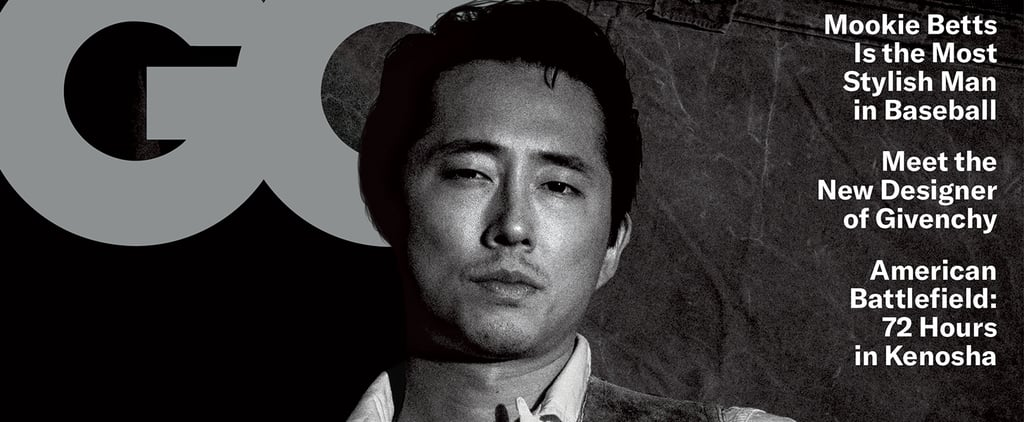 Steven Yeun's Quotes in GQ's April 2021 Issue