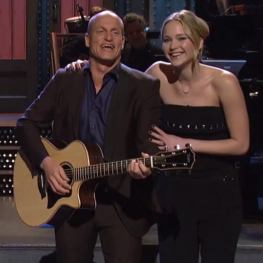 "Hunger Games Cast Performs ""Blank Space"" on SNL 