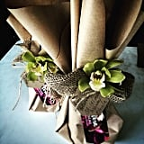 Use Faux Flowers as a Fun Touch