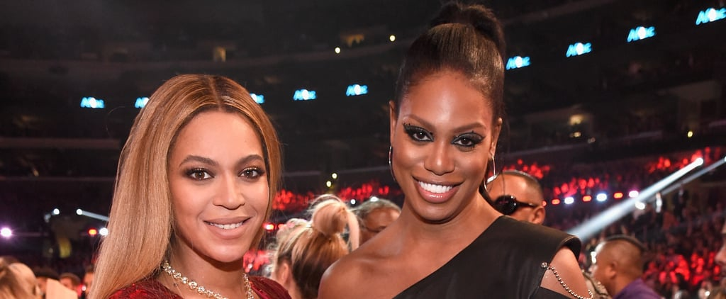 Laverne Cox Talks Meeting Beyonce on Stephen Colbert 2017
