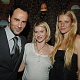 Gwyneth and Naomi Watts posed together at the opening of Tom Ford's NYC store in April 2007.