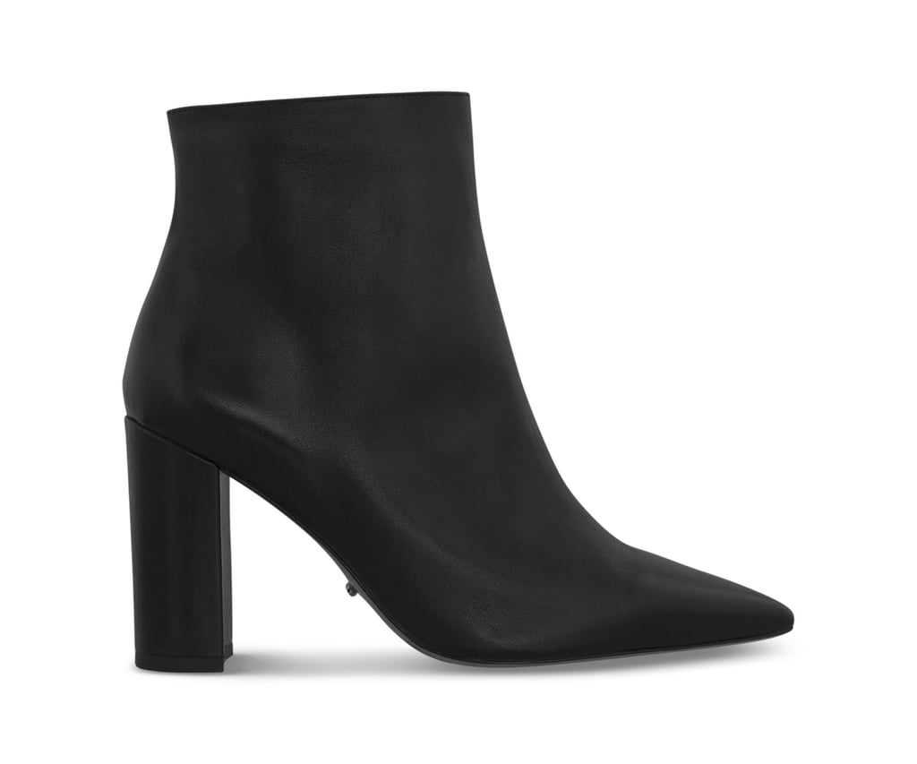 Tony Bianco Emaly Black Como Ankle Boots