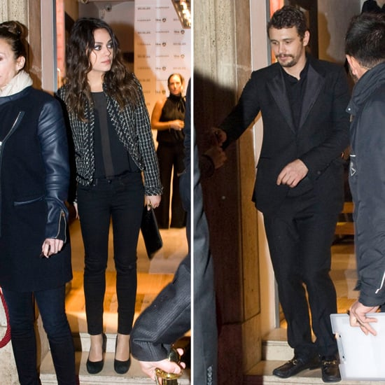Mila Kunis and James Franco Break From Filming For a Cause-Worthy Cocktail