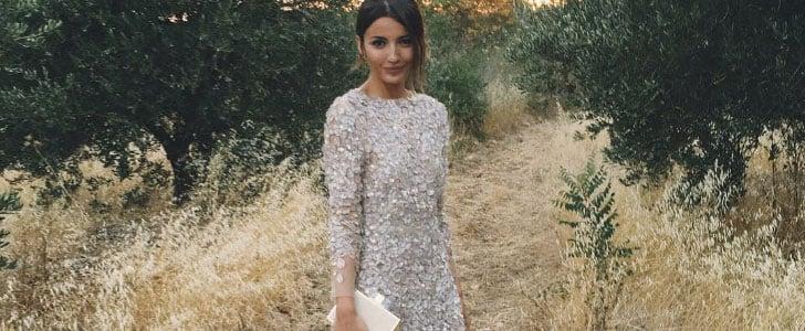 La Robe de Mariée de Cette Blogueuse Était Encore Plus Spectaculaire Vue de Dos