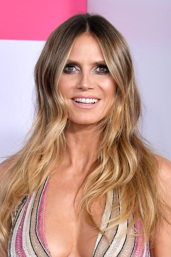 heidi klum hair  makeup    american