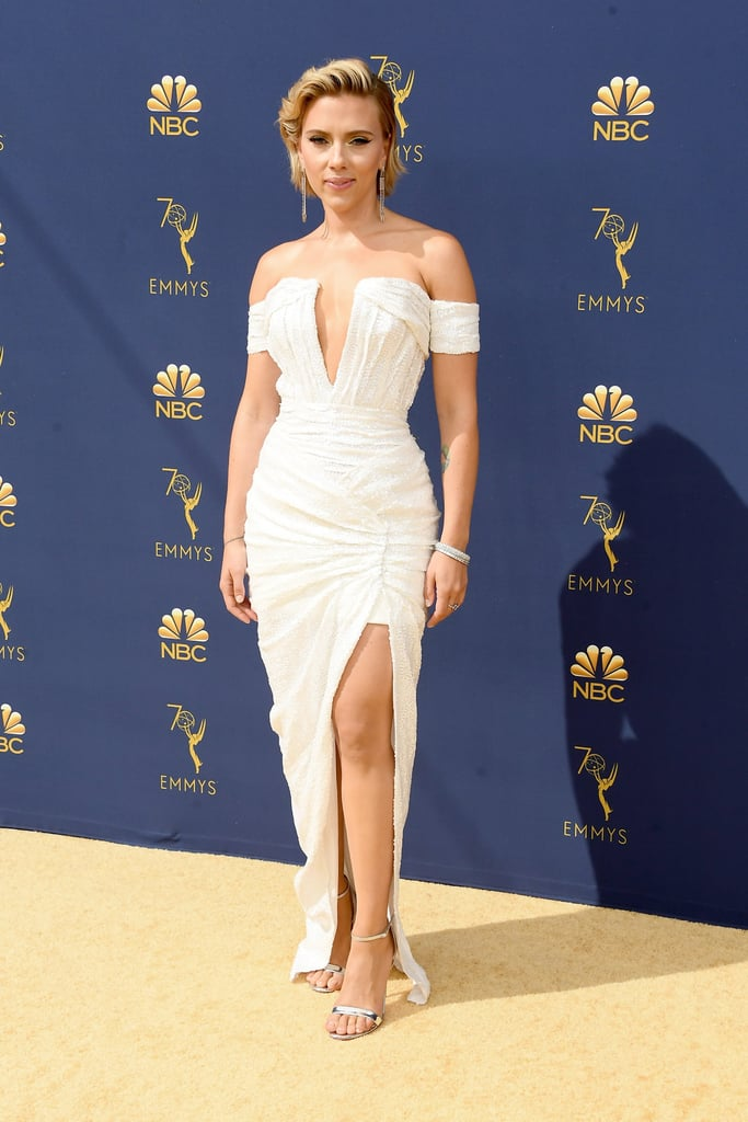 Scarlett Johansson's Dress at the 2018 Emmys