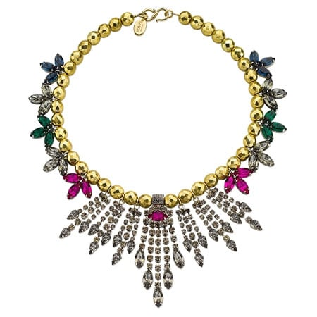 Gypsy Rani faceted crystal necklace, $589, Mawi London at Trilby Phoenix