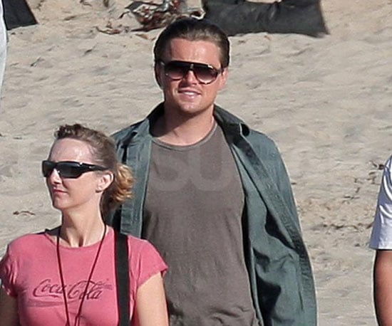Photos of Leonardo DiCaprio On the Set of Inception