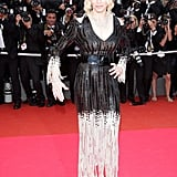 A darkly boho Madonna at Cannes Film Festival in 2008.