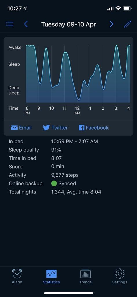 Use a Sleep Tracker