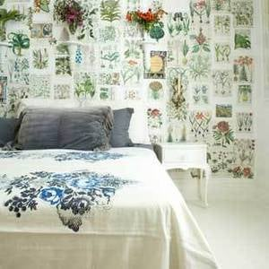 DIY: Découpaged Walls