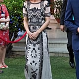 Kate Middleton Wears a Crop Top Fit For a Garden Party in India