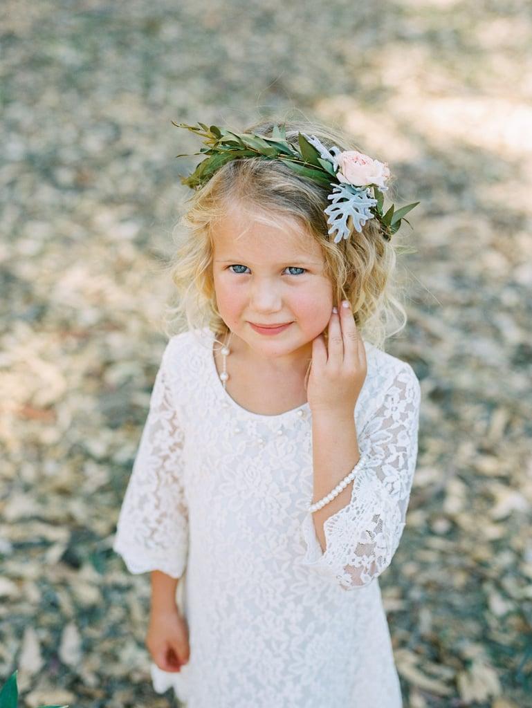 Wedding flower crown ideas for flower girls popsugar moms izmirmasajfo