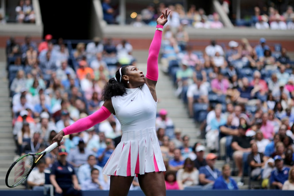 The Compression Sleeves Were Fashionable and Also Helped Serena Williams's Circulation