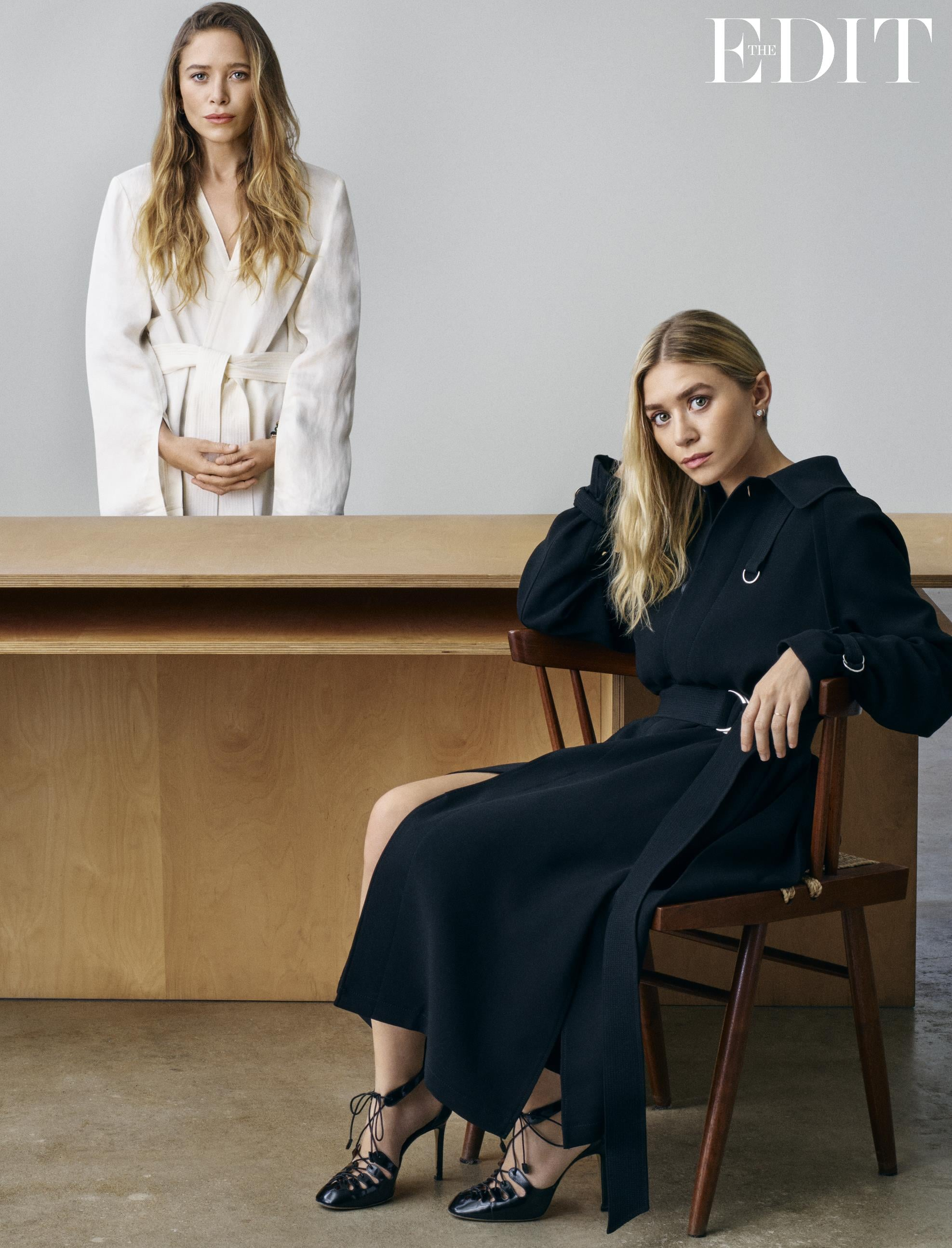 Mary Kate And Ashley Olsen The Edit Interview March 2017