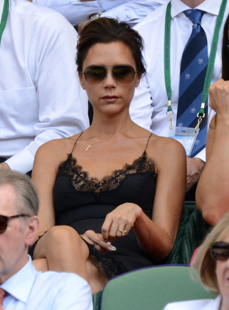 In a Delicate Aviator Shape at Wimbledon