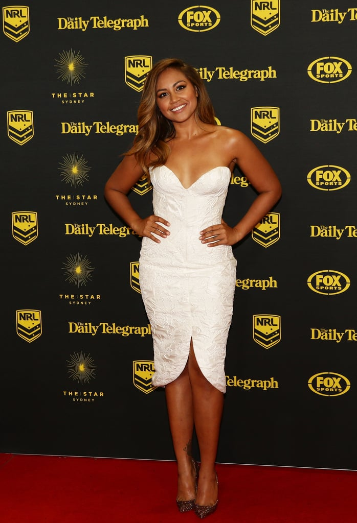 Jessica Mauboy at the 2014 Dally M Awards