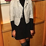 T4 presenter Gemma Cairney also worked over the knee socks like Pixie.