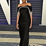 Jennifer Hudson at the 2019 Vanity Fair Oscar Party