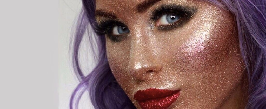 Why You Should Think Twice About Re-Creating the Full Face of Glitter Challenge