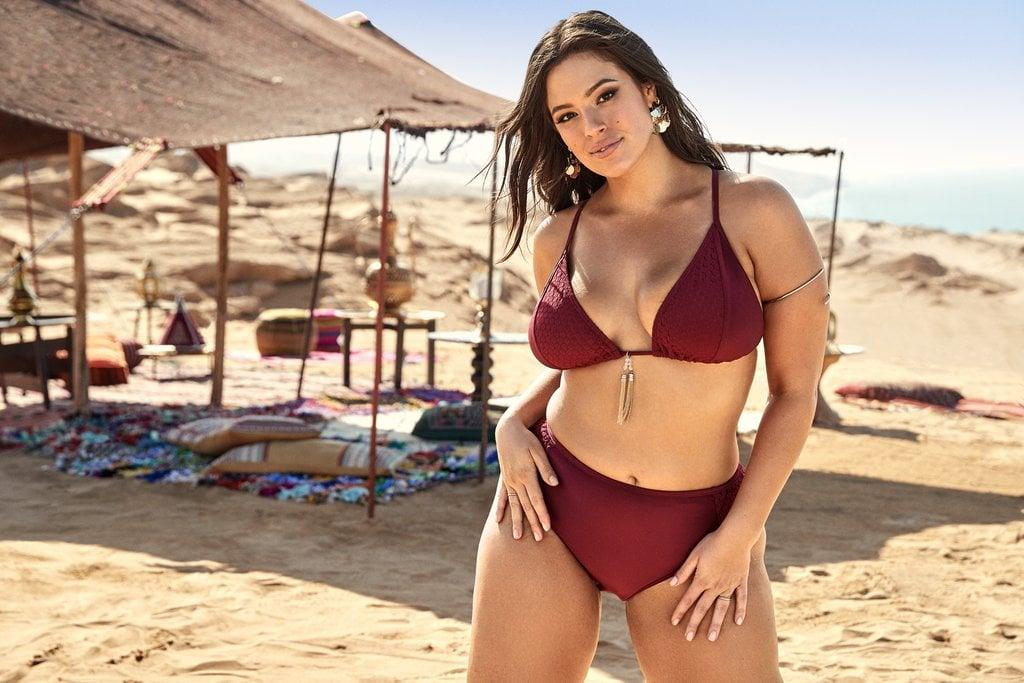 d3fa7abe5fc Ashley Graham x Swimsuits For All Zagora Bikini   Kaia Gerber Red ...