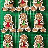 M&M Gingerbread Cookies