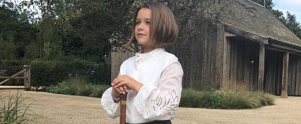 Harper Beckham's Haircut Like Victoria Beckham's August 2018