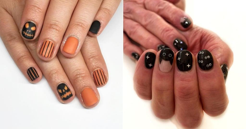 Best Halloween Nail Art For Short Nails
