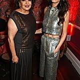 Baria Alamuddin and Amal Clooney