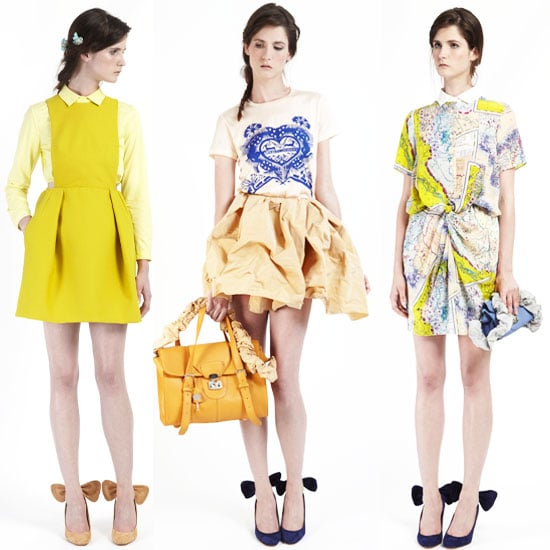 Carven Resort 2012 Collection: See Guillaume Henry's Designs. We J'adore The Leather Shorts, Digital Prints and Skirt Suits!