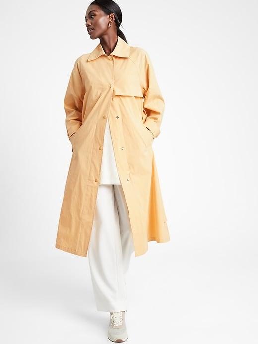 Banana Republic Oversized Rain Coat