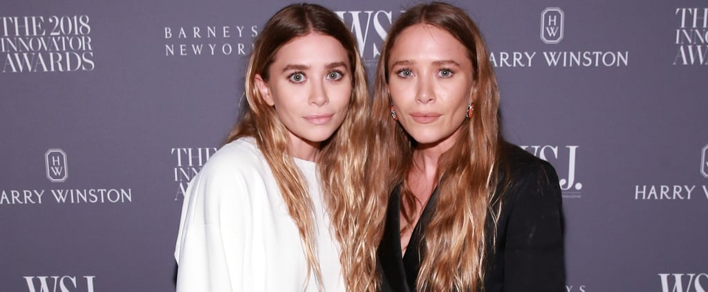 Mary-Kate and Ashley Olsen Shoes at WSJ Awards November 2018