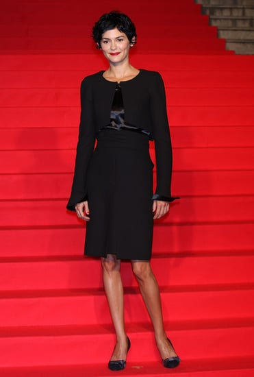 Audrey Tautou attends the''Coco Avant Chanel''premiere in Japan