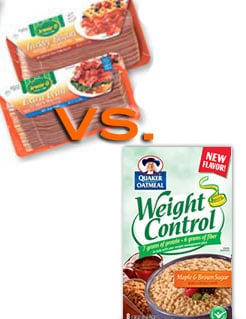 Which Breakfast Side Item Has MORE Calories?