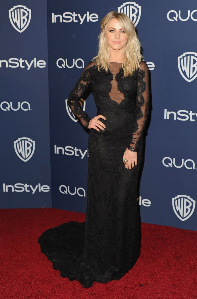 Julianne Hough at the Netflix Golden Globes Afterparty