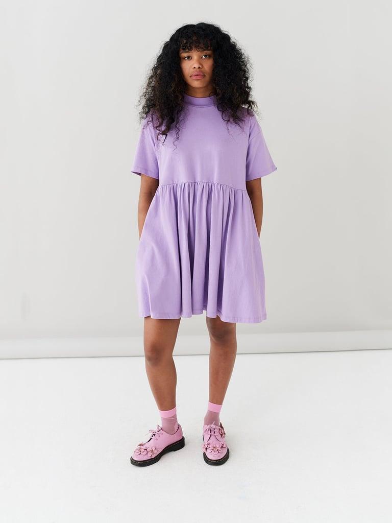 Shop Lilac Dresses: LO Lilac Short Sleeve Sally Dress