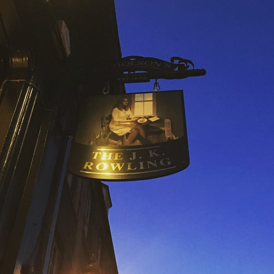 J.K. Rowling Pub in Edinburgh, Scotland
