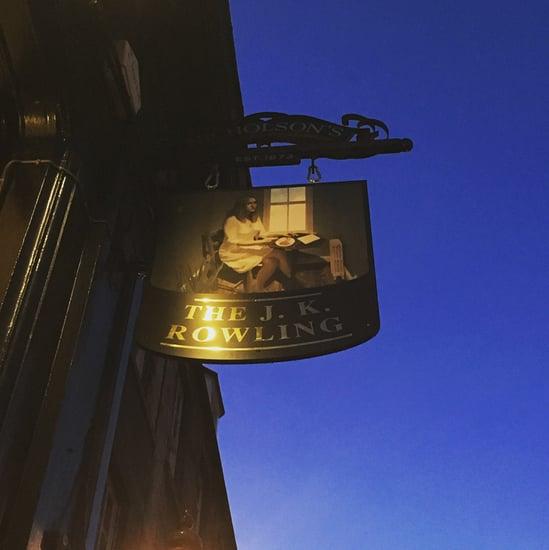 J.K. Rowling Pub in Edinburgh
