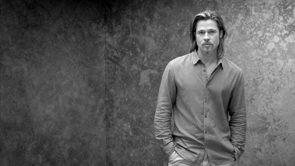 Brad Pitt For Chanel