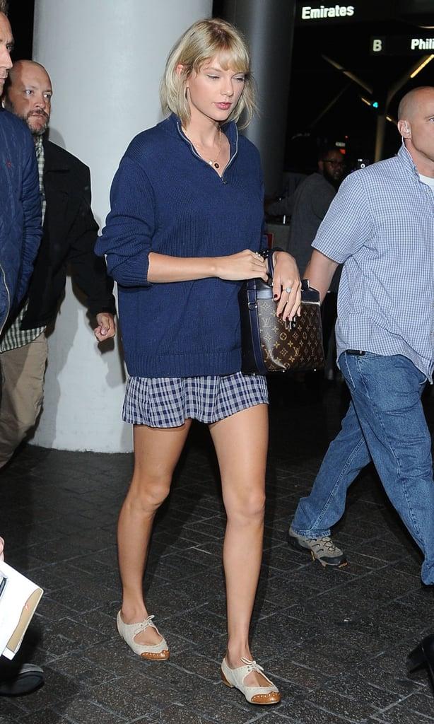 Taylor Swift and Tom Hiddleston at LAX Photos July 2016