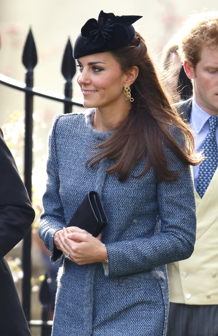 Kate Middleton Nails Wedding-Guest Beauty Style